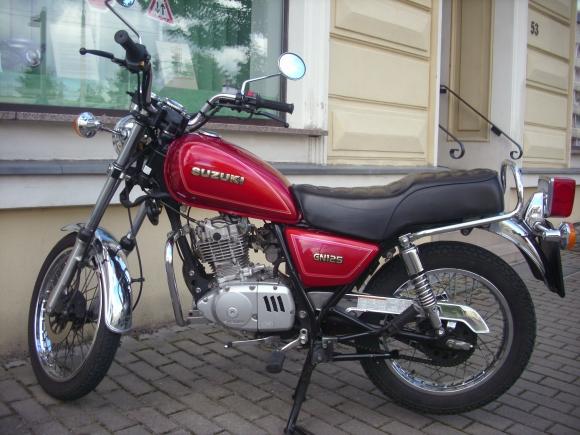 Suzuki GN 125 Klasse A1