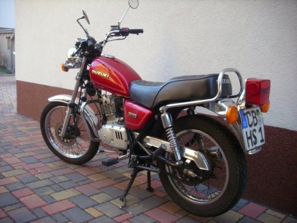 Suzuki GN125 Klasse A1
